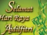 Image of the news Selamat Hari Raya Aidilfitri