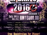 Image of the news M-Darts Malaysia Championship 2016 Season 1