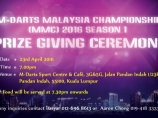 Image of the news M-darts Malaysia Championship 2016 Season 1 Prize Giving Ceremony