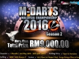 Image of the news M-Darts Malaysia Championship 2016 Season 2